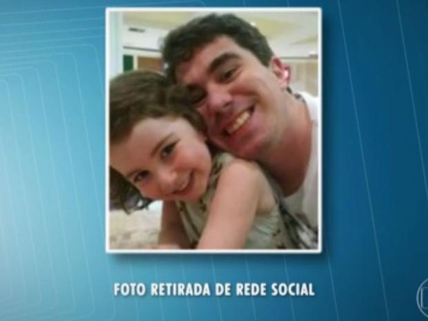 Ricardo e Sophia Najjar (Foto: Arquivo/ Reprodução/TV Globo)