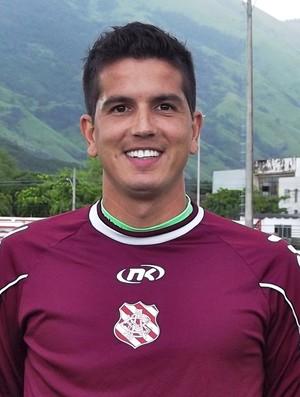 Getulio Vargas goleiro Bangu (Foto: Divulgação)