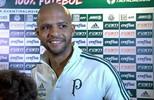 Depois de marcar o primeiro gol pelo Palmeiras, Felipe Melo quer títulos e virar ídolo