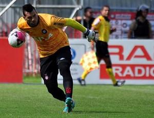 Weverton, goleiro do Atlético-PR, contra o América-RN (Foto: Divulgação/Site oficial do Atlético-PR)