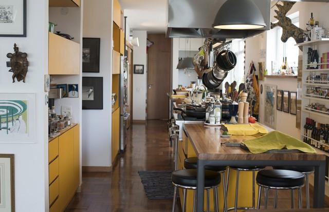 A cozinha aberta de Marina Person (Foto:  Camila Guerreiro)