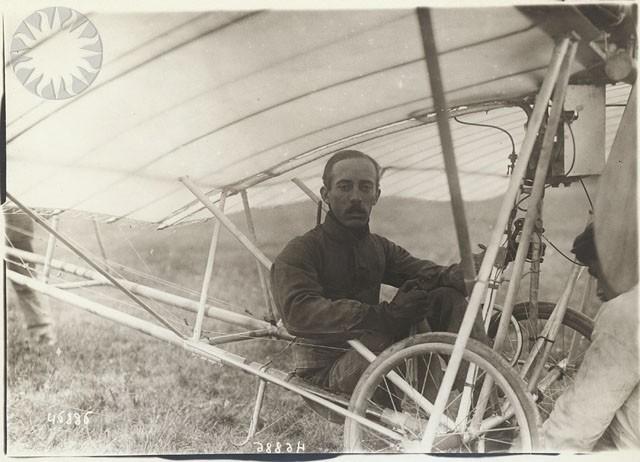 Alberto Santos-Dumont (Foto: Branger & Cie (Smithsonian Institution))