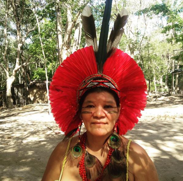 Nitynawã, líder Pataxó