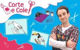 Corte e cole: Desenho com confete