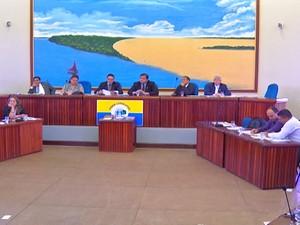 Câmara de Vereadores de Santarém (Foto: Reprodução/TV Tapajós)