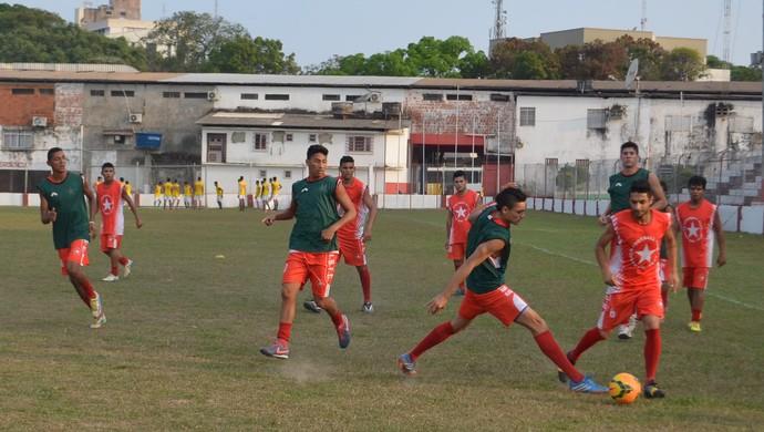 Treino Rio Branco-AC, CT José de Melo (Foto: Murilo Lima)
