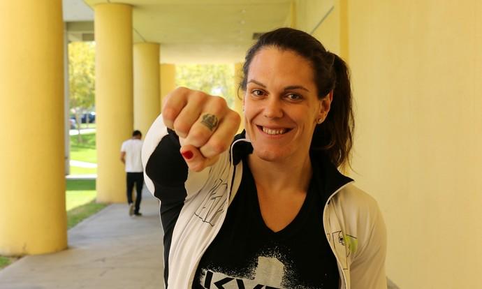 Gabi Garcia MMA (Foto: Evelyn Rodrigues)