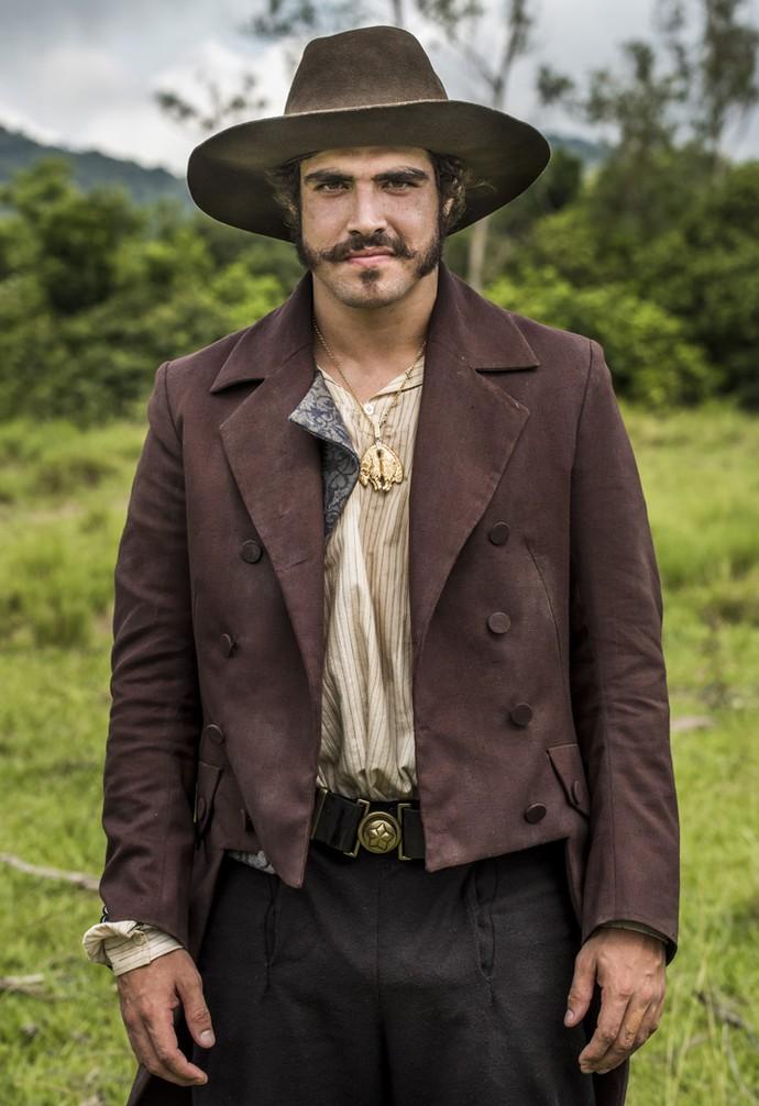 Caio Castro interpreta Dom Pedro em 'Novo Mundo', a próxima novela das 6 (Foto: Globo/ César Alves)