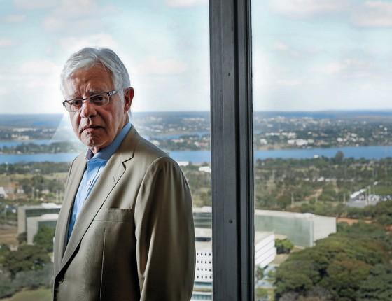 Moreira Franco Secretário Especial da Presidência da Rapública   (Foto:  Sérgio Lima/ÉPOCA)