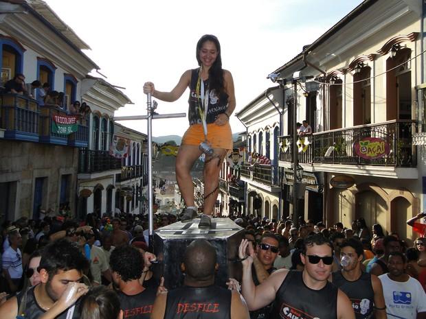 Stela Braga é de Belo Horizonte (Foto: Alex Araújo / G1)