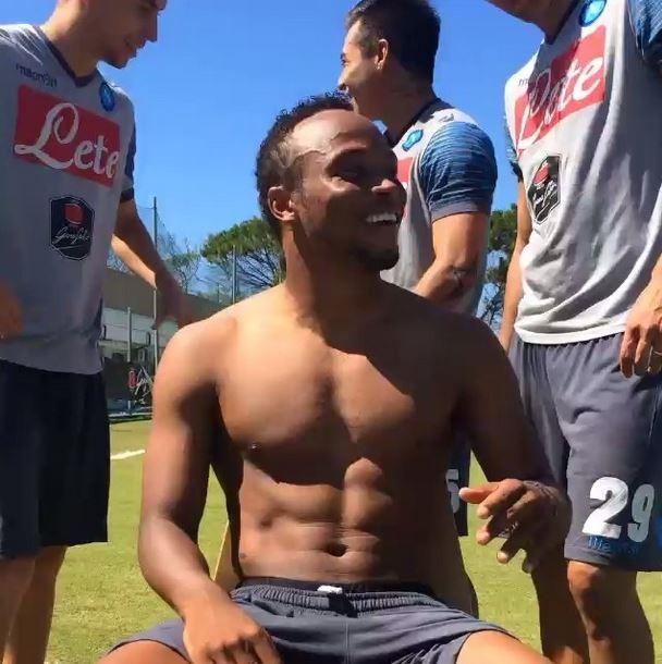Zuninga, jogador que lesionou o Neymar na Copa (Foto: Instagram/Reprodução)