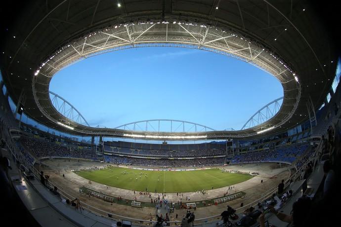 Engenhão - Botafogo x Bahia - Estádio Nilton Santos (Foto: Satiro Sodré / SSPress)