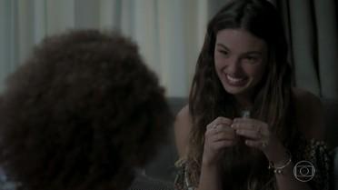 Ritinha fala para Marilda que irá esperar Zeca sair da prisão