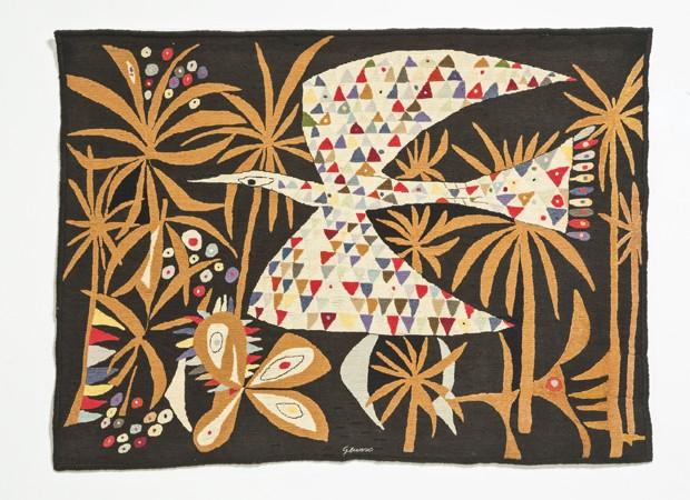 Tapeçarias de Genaro de Carvalho e jardins de Burle Marx inspiram coleções de moda (Foto: Divulgação)