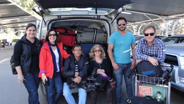 Equipe da RBS TV percorreu 3 mil km para produzir o programa (Foto: Divulgação)