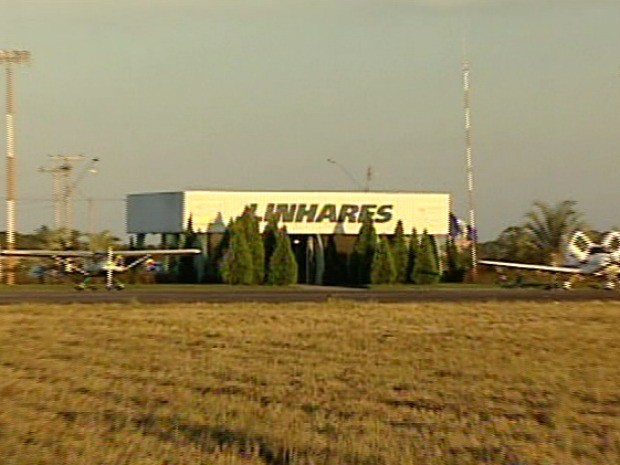 Obras no aeroporto de Linhares devem ser concluídas até o final de 2013 (Foto: reprodução/TV Gazeta Norte)