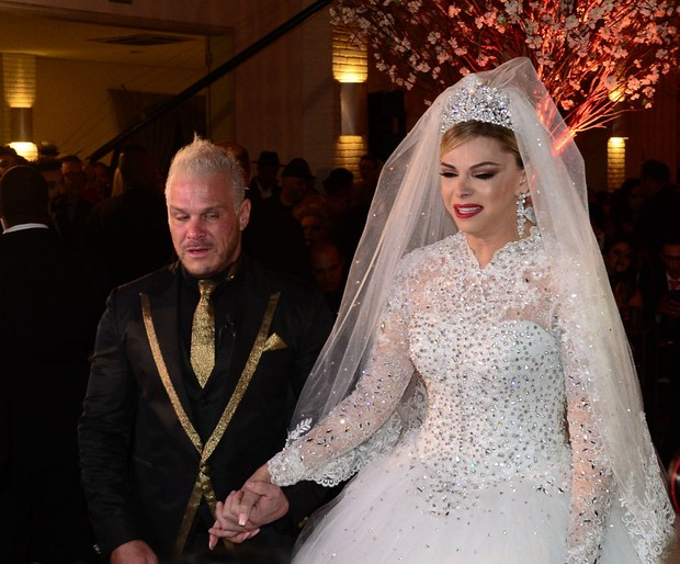 Casamento de Léo Áquila e Chico Campadello (Foto: Francisco Cepeda e Orlando Oliveira/AgNews)