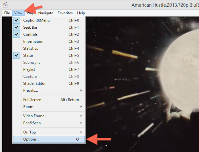 Como colocar legendas do Windows Media Player Classic