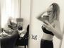 Ex-BBB Francieli Medeiros conta que já perdeu 13kg após dar à luz