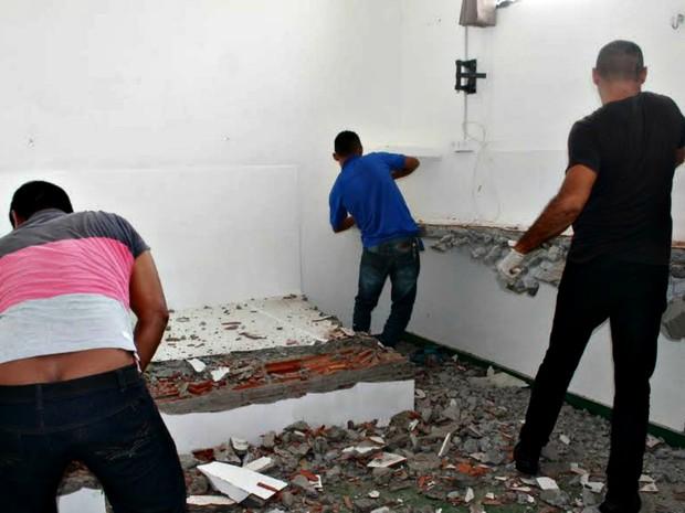 Cela teve estrutura de luxo desativada no dia 20 (Foto: Seap/Divulgação)