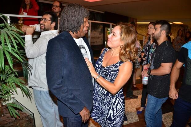 Milton Nascimento e Cissa Guimarães (Foto: Webert Belicio/Agnews)