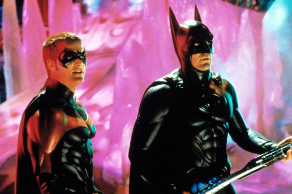George Clooney e Chris O'Donnell como os protagonistas de Batman & Robin (1997) (Foto: Reprodução)