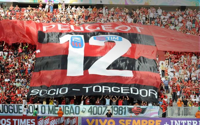Torcida Flamengo camisa 12 (Foto: Alexandre Vidal / Fla Imagem)