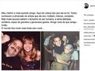 Glória Perez lamenta morte de Guilherme Karam: 'Meu irmão'