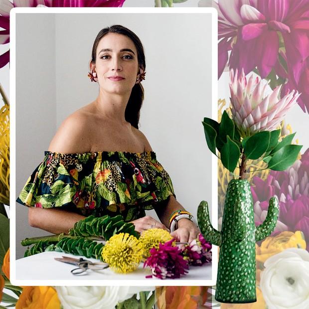 Flores exóticas como próteas e dálias são as preferidas de Ana  (Foto:  Camilla Maia)