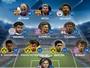 Seleção da Liga de game da Uefa tem ataque com Neymar, Messi e Agüero