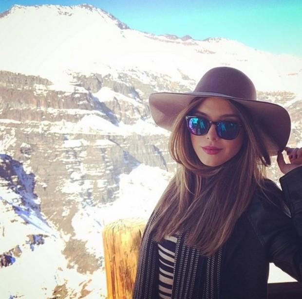 Giovanna Lancellotti estilosa e pronta para o inverno (Foto: Reprodução/Instagram)