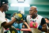 """Mayweather devolve provocação de McGregor, do UFC: """"É um brincalhão"""""""