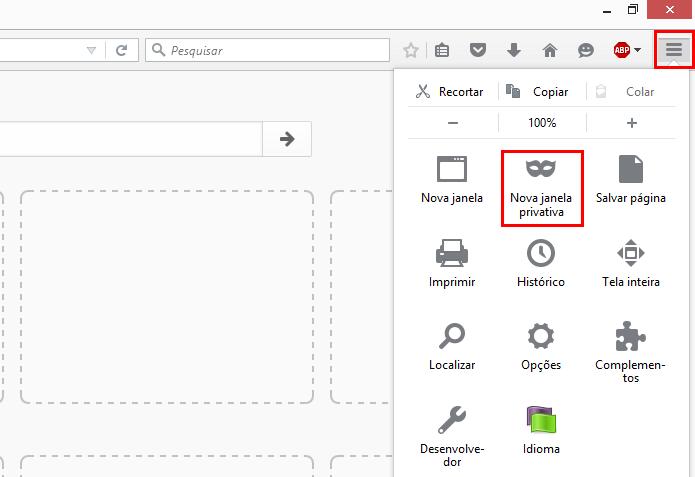 Proteção do Firefox impede que sites rastreiem comportamento de usuário (Foto: Reprodução/Firefox)