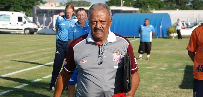José Carlos Serrão técnico Sertãozinho (Foto: Vinicius Alves / Sertãozinho FC)