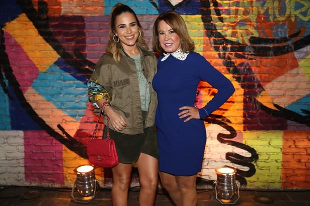 Wanessa Camargo e Zilu Godoi (Foto: Manuela Scarpa / PhotorioNews)