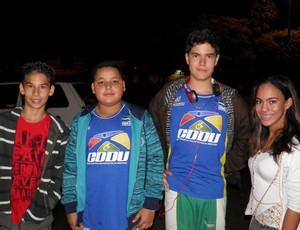 Atletas do CDDU de Uberlândia nas Paralimpíadas Escolares (Foto: Divulgação/CDDU)