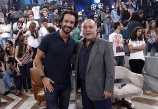 Rodrigo Santoro e Tony Ramos (Foto: Celso Tavares/EGO)