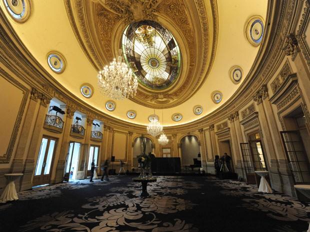 Ambiente do Sofitel Montevideo Casino Carrasco and Spa (Foto: AFP Photo/Miguel Rojo)