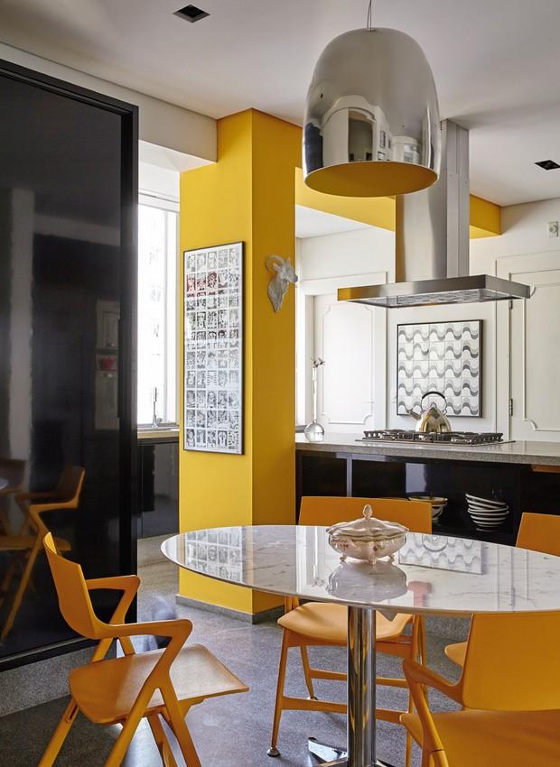 cozinha-amarela (Foto: Victor Affaro)