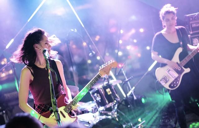 Warpaint se apresenta em São Paulo (Foto: Clibas Pacheco)