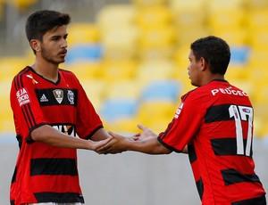 Mattheus e Carlos Eduardo Flamengo (Foto: Wagner Meier / Agência Estado)