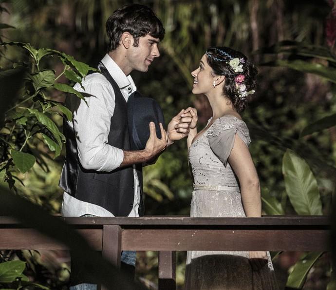 Pitombo acredita que para ser considerado um príncipe, o homem deve tratar uma mulher como princesa (Foto: Felipe Monteiro/Gshow)