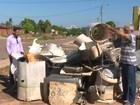 Moradores de Cacoal reclamam de entulhos deixados pela prefeitura