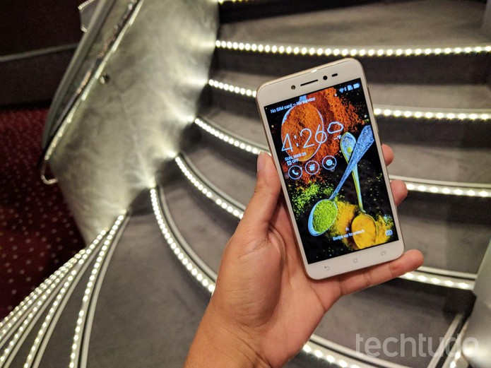 Zenfone Live vai chegar ao Brasil com melhoria de imagem em vídeo ao vivo (Foto: Melissa Cruz/TechTudo)