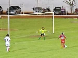 Serra vence Iguaçu de goleada na estreia da Copa do Brasil (Foto: Reprodução/TVCA)