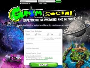 Rede Social Grom é feito para crianças de 5 a 16 anos, segundo Zach Marks, fundador do site (Foto: Reprodução/Grom Social)