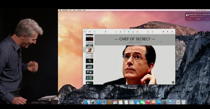 Com o Yosemite, é possível atender ligações do iPhone direto do Mac (Foto: Reprodução)
