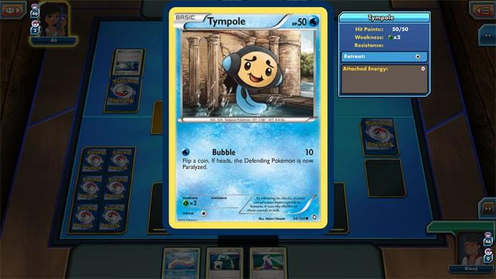 Um exemplo de Pokémon básico (Foto: Reprodução/Felipe Vinha)
