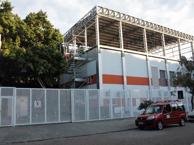 Prédio onde ficará a sala-cofre da prefeitura em Porto Alegre (Foto: Claudia Moreira/Divulgação, Procempa)
