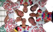 Seleção inglesa de rúgbi chama atenção com uniforme colorido (Arquivo / RFU)